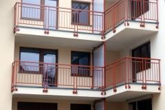 Przegrody balkonowe