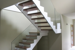 schody wewnętrzne policzkowe